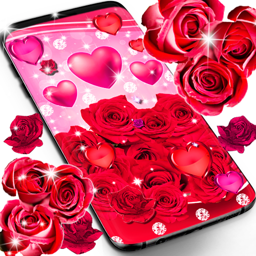 Download Red Rose Live Wallpaper 9 4 94 Apk Android Application