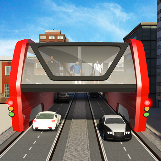 Download Elevated Bus Simulator: Futuristic City Bus Games