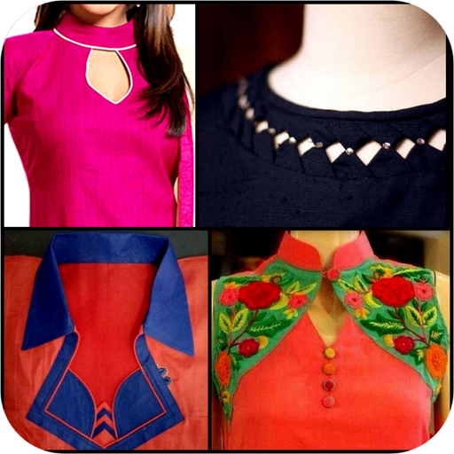 Download Latest Neck Catlog Kurti Collar Designs Girls