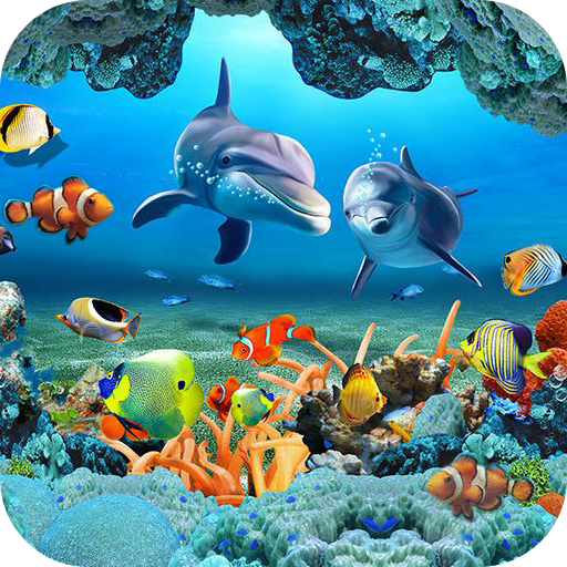 Download Fish Live Wallpaper 3D Aquarium Background HD