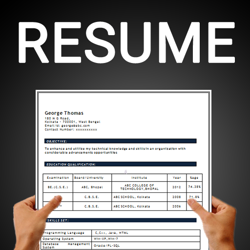 download resume builder free cv maker templates formats