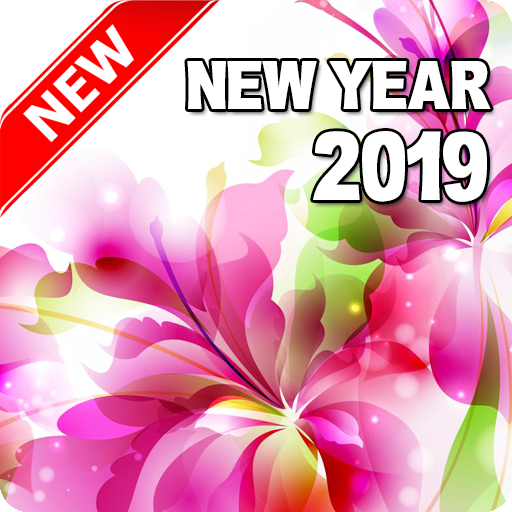happy new year 2019 flowers